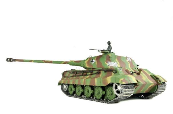 RC-Panzer mit Metallketten