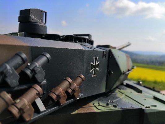 Leopard 2 A6 von Heng-Long im Detail
